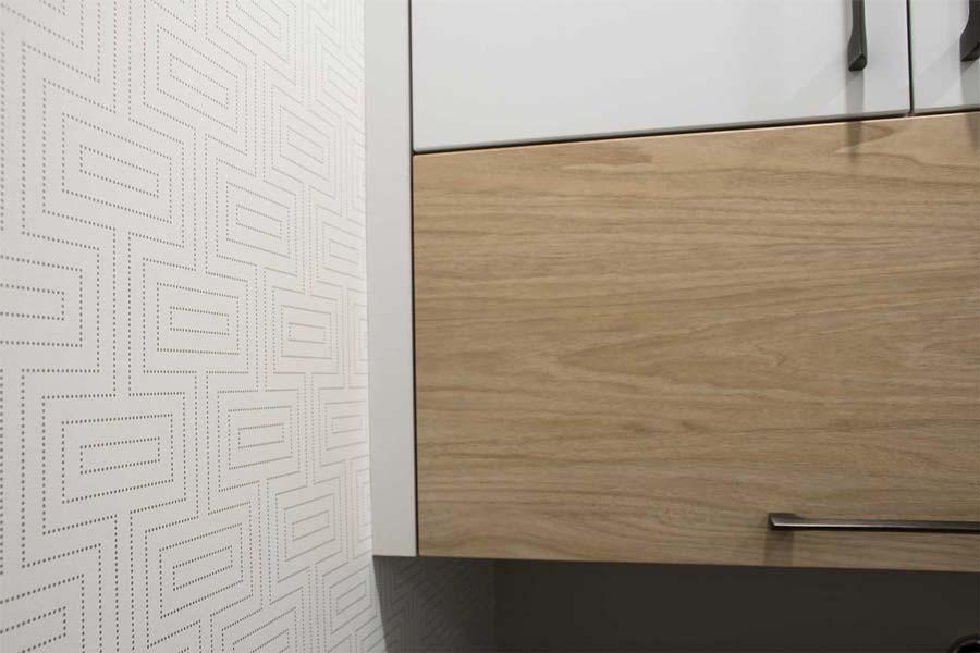 papier peint geometrique